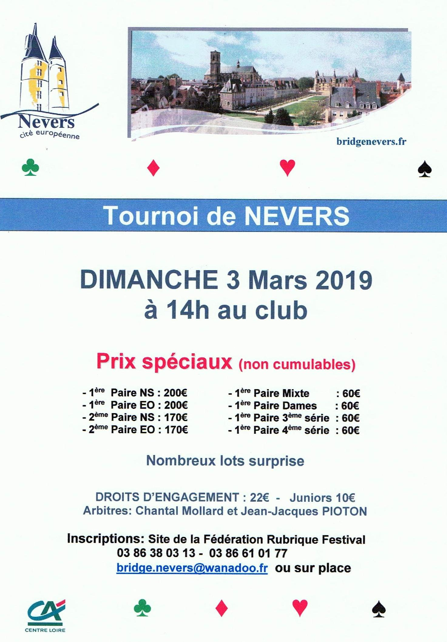 Tournoi Nevers 2019